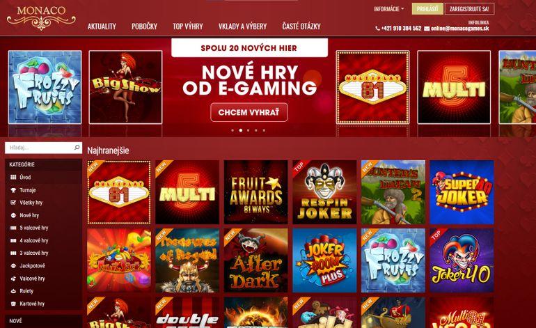 Online casino Monaco