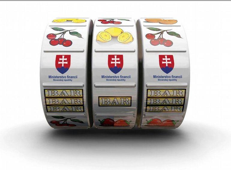 Hazard na Slovensku - válce automatu