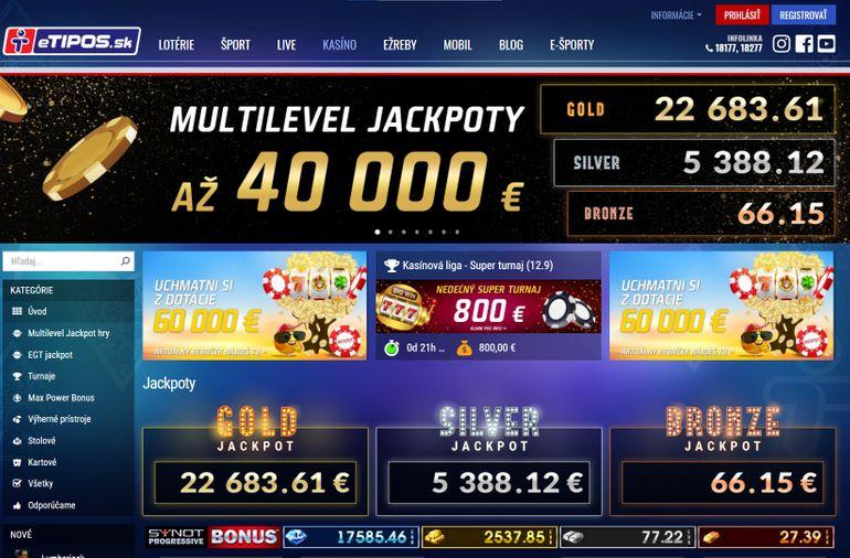 Online casino eTipos