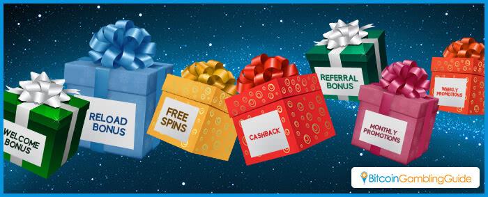 Balíčky bonusů, dárky