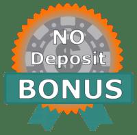 No deposit bonus badge