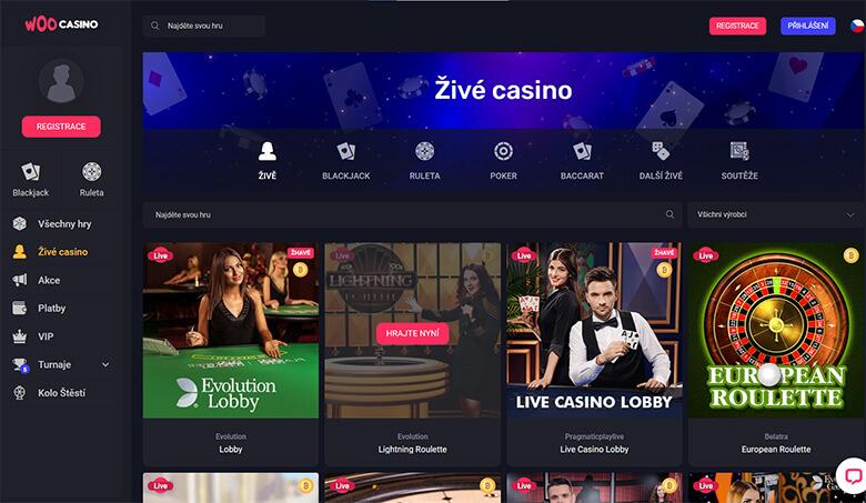online casino WooCasino