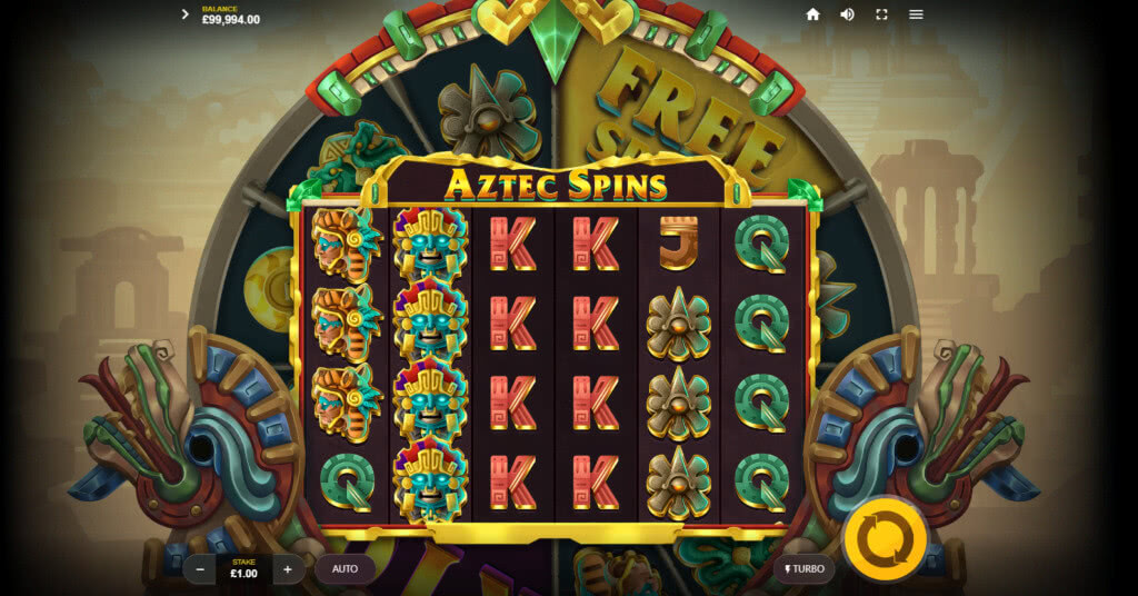 Aztec Spins - automat od Red Tiger Gaming