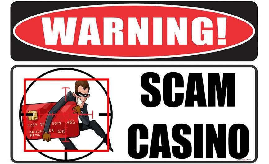 Varování před scam casiny