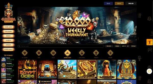 Hazardní provozovna od Crystal Palace Group Casinos
