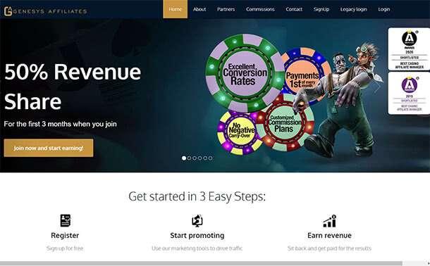 Hazardní provozovna od Genesys Technology Group