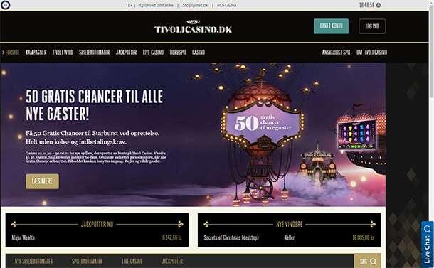 Hazardní provozovna od Tivoli Casino