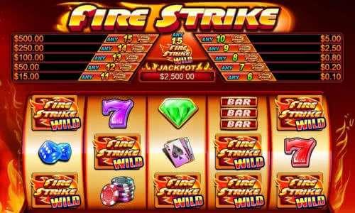 Výherní automat Fire Strike od TopGame (Pragmatic Play)
