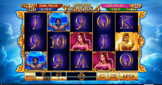 Automat Age of the Gods: Furious 4