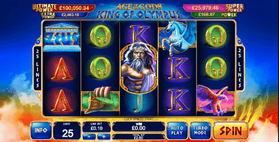 Automat Age of the Gods: King of Olympus