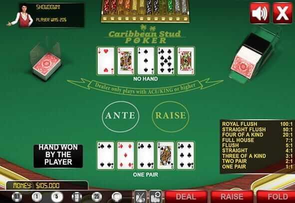 Herní stůl pro Poker