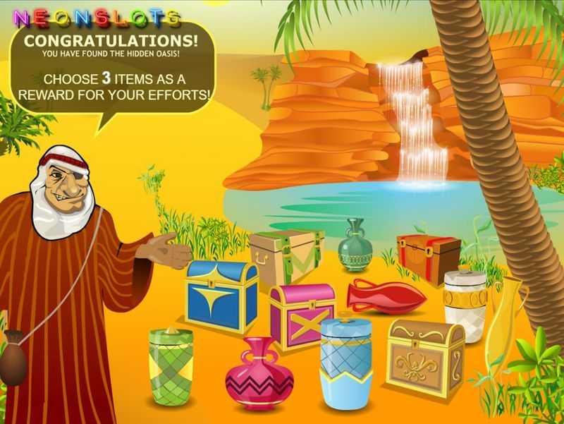 Bonus - Desert Treasure