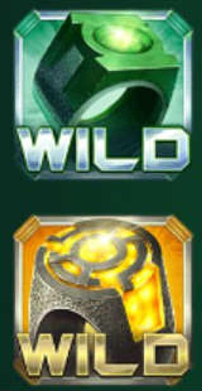 Výherní automat Green Lantern - Wildy