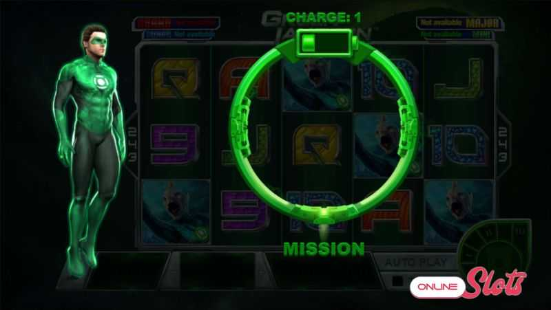 Výherní automat Green Lantern - Bonus