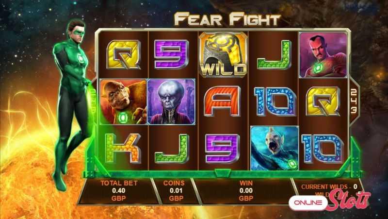 Výherní automat Green Lantern - Fear Fight