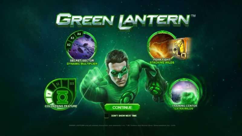 Green Lantern - úvod