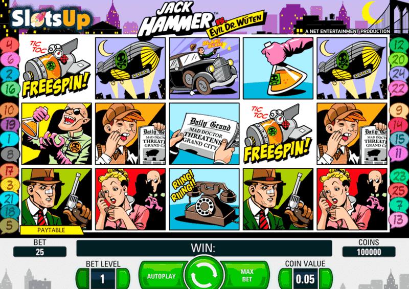 Jack Hammer - základní hra
