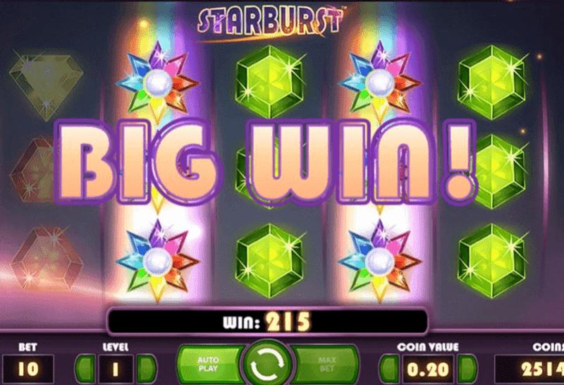 Starburst - velká výhra