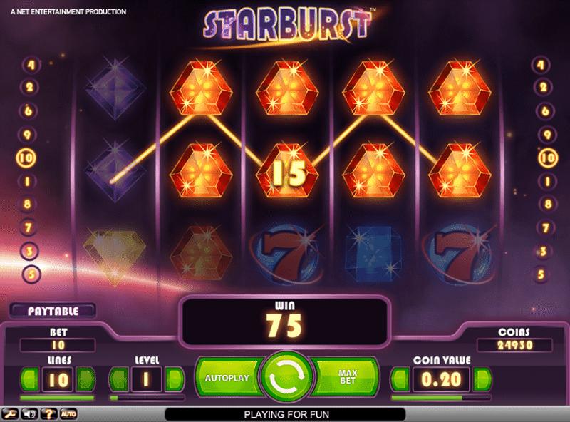 Starburst automat