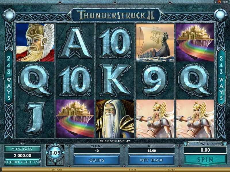 Thunderstruck II - základní hra