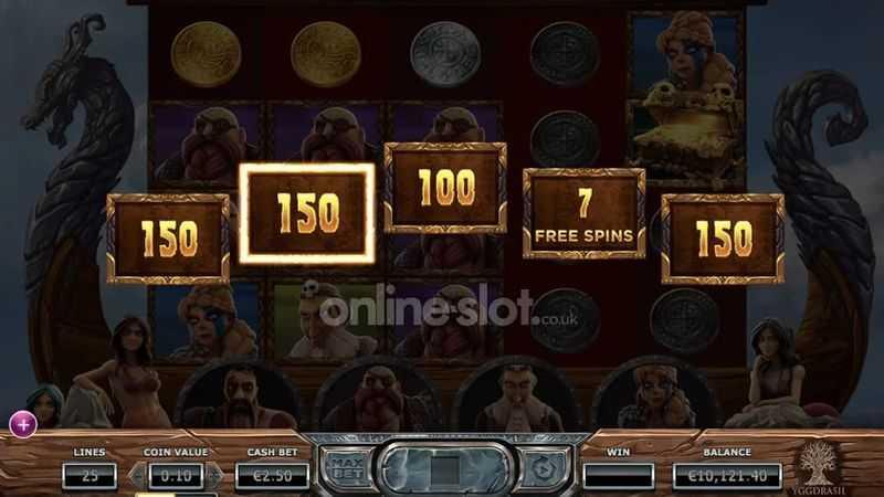 Výherní automat Vikings Go Berzerk - Golden Treasure Chest (bonus)