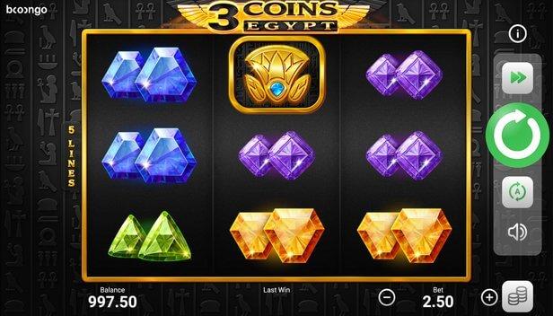 Automat 3 Coins: Egypt