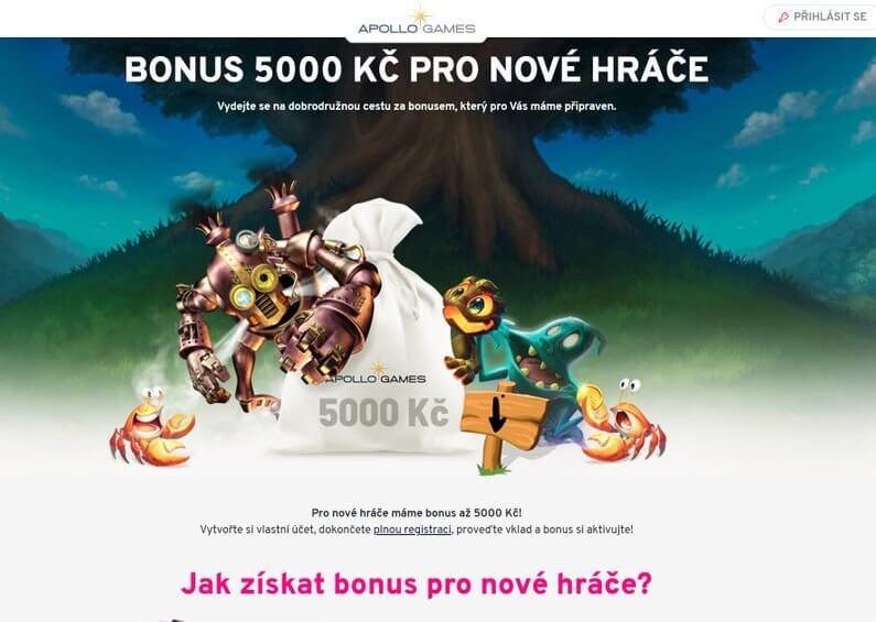 Apollo Games - bonus