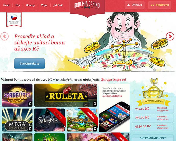 Bohemia Casino bonus