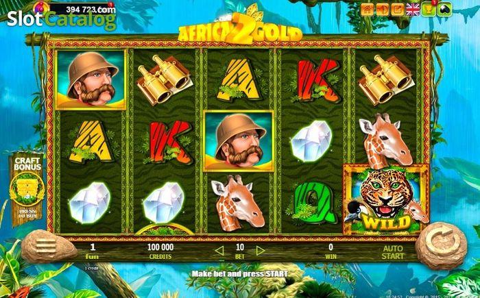 Africa Gold 2 - Automat od Belatra Gaming v King Billy Casinu