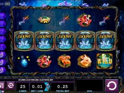 Crystal Forest Slot - jackpot symbol
