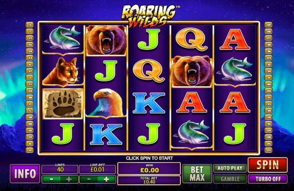 Hrát automat Roaring Wilds