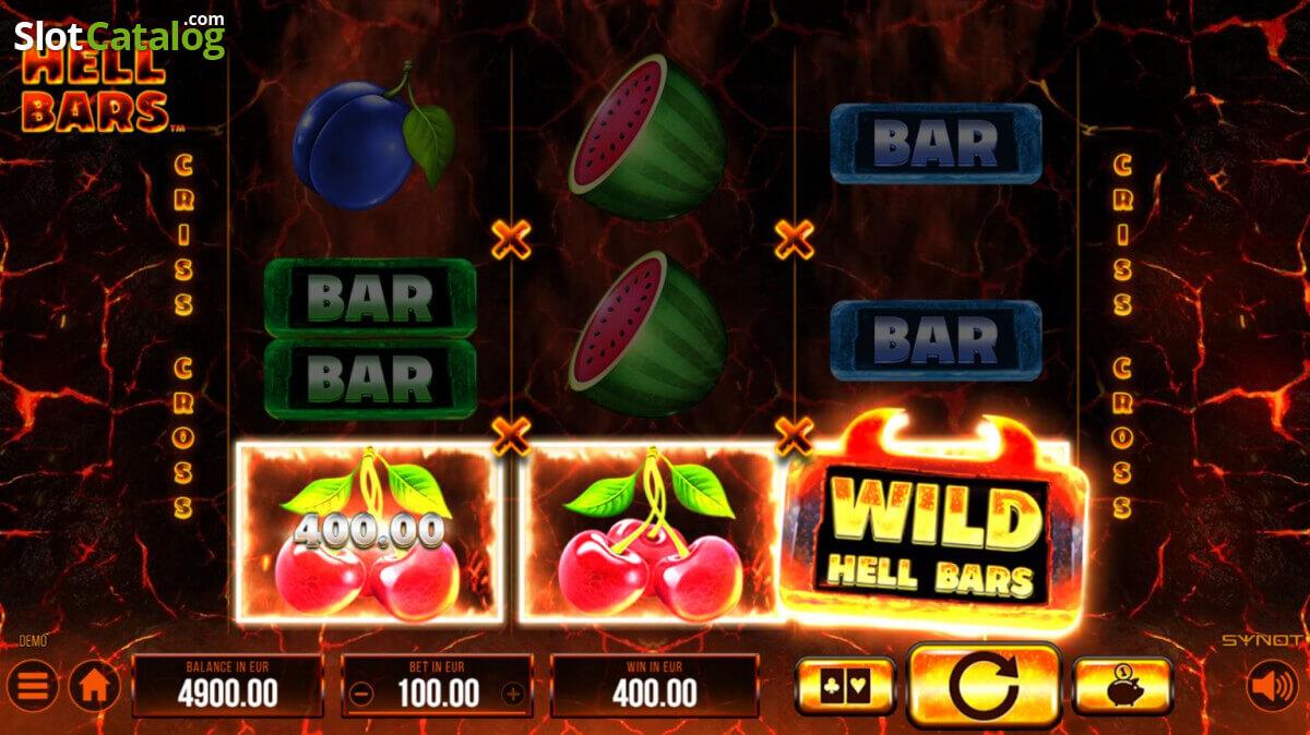 Hrát automat Hell Bars