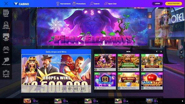 Homepage - online casino Ivi Casino