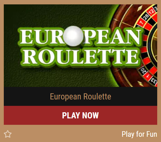 Evropská ruleta od Belatra Games