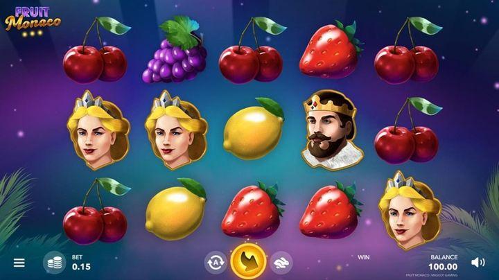 Fruit Monaco - výherní automat