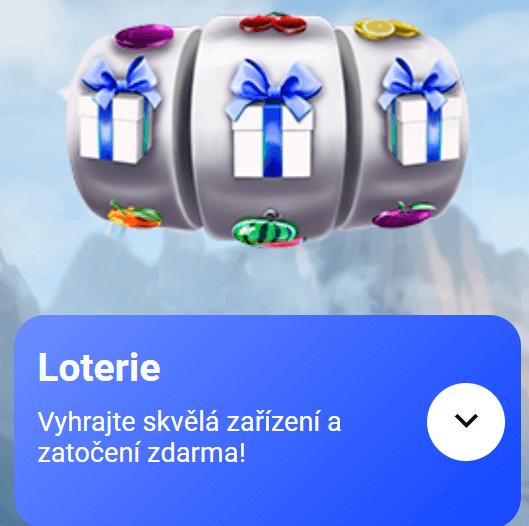 Loterie - ikona ve Slottica Casinu