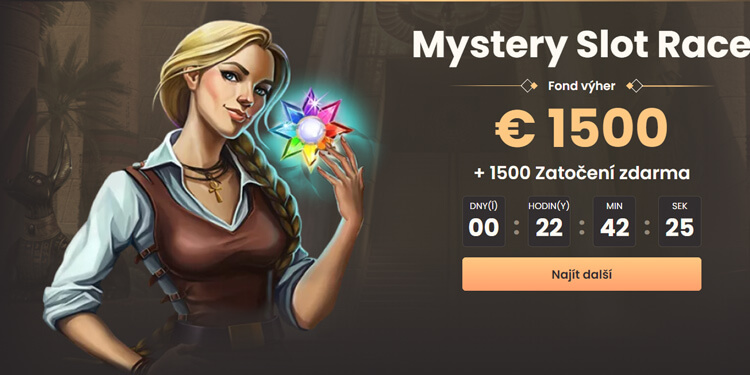 Turnaj Mystery Slot Race