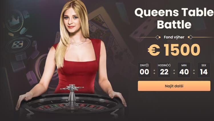 Queens Table Battle turnaj