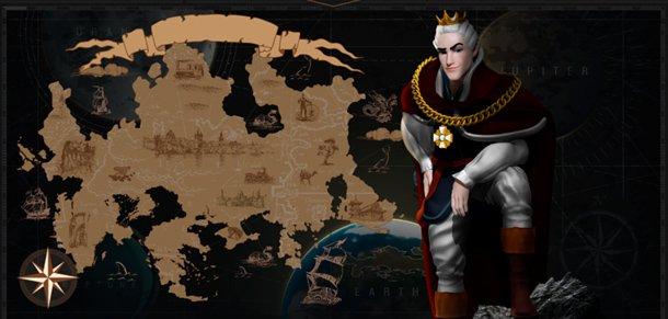 King Billy Casino mapa, legenda