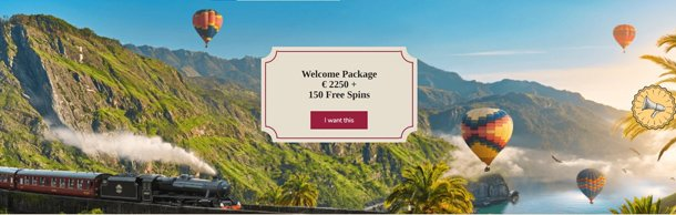 Orient Xpress casino home page