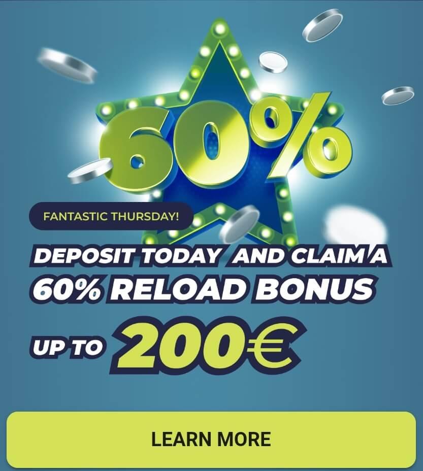 Casinoin bonus