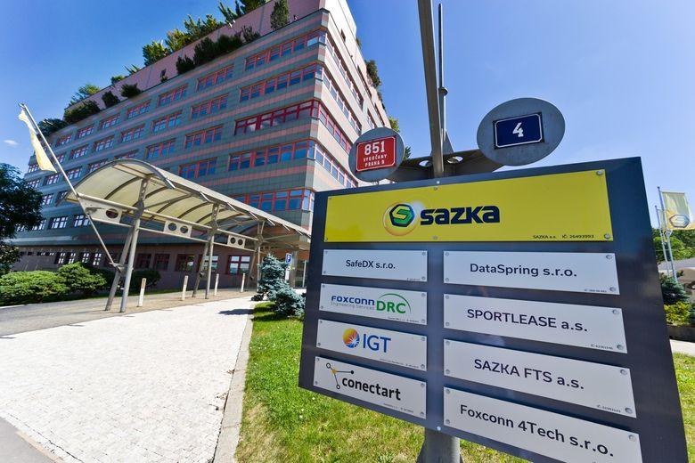Sídlo společnosti Sazka