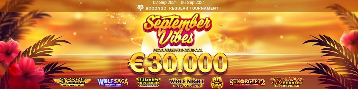 September Vibes - Playamo progresivní turnaj