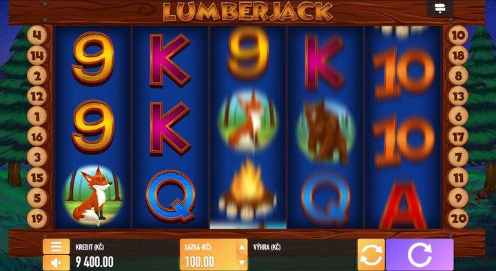 Tech4Bet automat Lumberjack