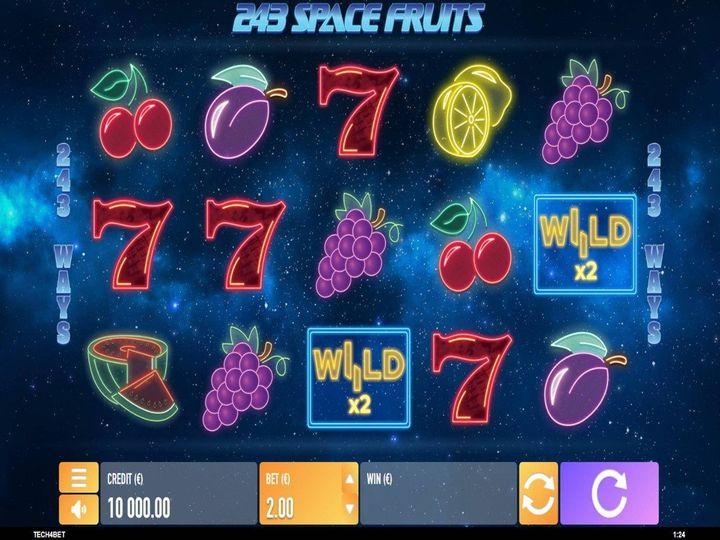 Tech4Bet automat Space Fruits