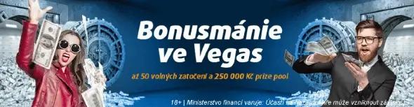 Tipsport Vegas promoakce Bonusmánie