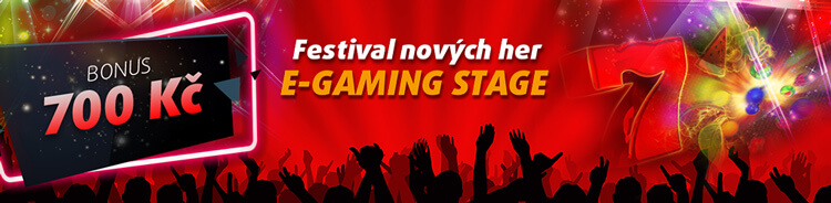 E-GAMING festival v online casinu Tipsport Vegas Casino