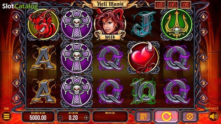 Automat Hell Mania