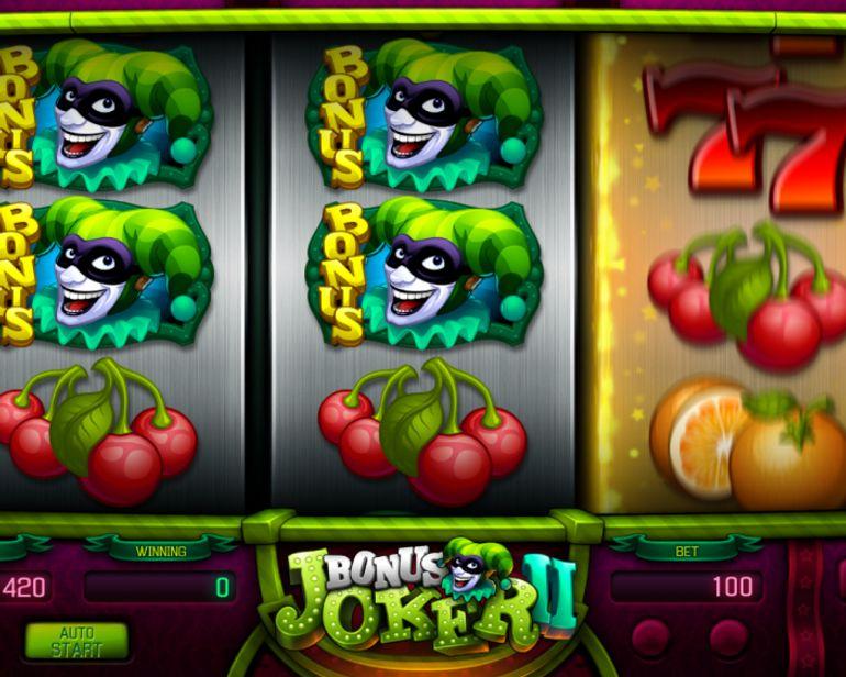 Bonus Joker 2 automat
