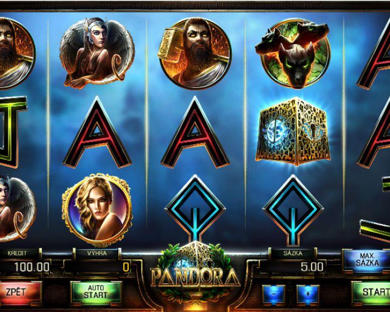 Automat Pandora - gameplay